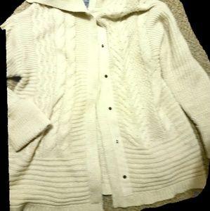 Vera Wang sparkling cardigan
